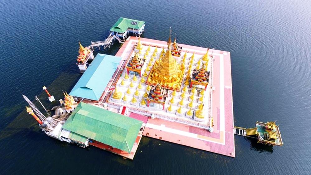 Our Famous Shwe Myinzu Pagoda @ Inndawgyi Lake, Kachin State